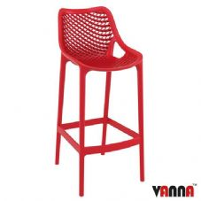 Vanna Spring Bar Stool - Red